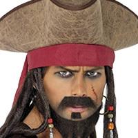 Pirate Wigs & Accessories