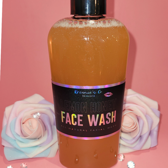 Lemon Honey Love Face Wash