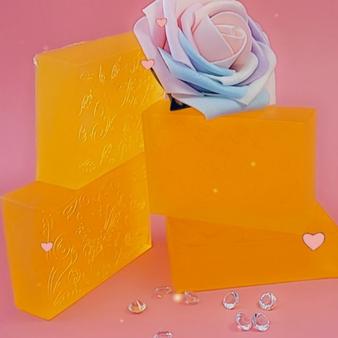 Iced Lemon Honey Love Soap