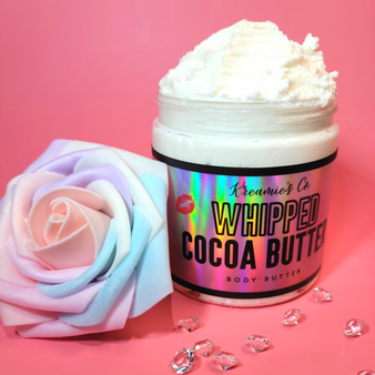 Unrefined Creamy Whipped Cocoa Butter