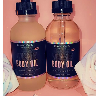 4 Oz. Vitamin Infused Body Oil