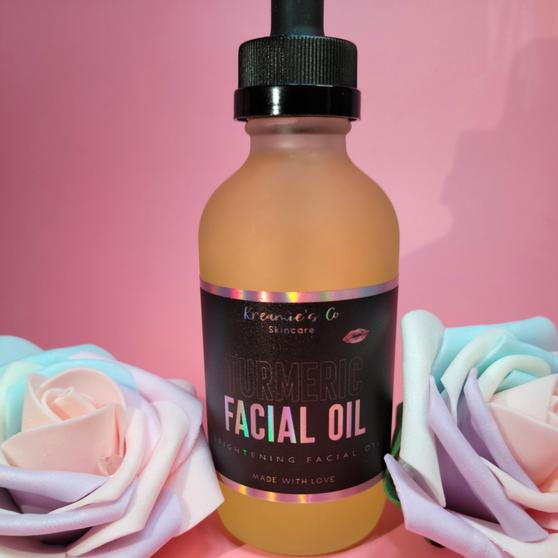 4 oz. Turmeric Brightening Oil w/Almond Oil