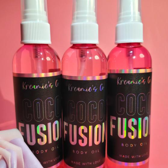 4 oz. Cocofusion Hair & Body Oil