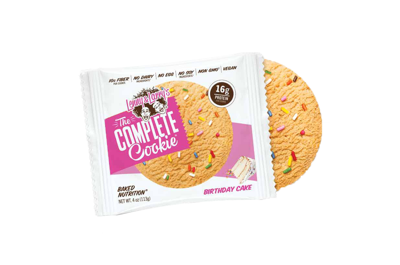 Lenny and Larry's Complete Cookie - Birthday Cake - The Protein Pick ...