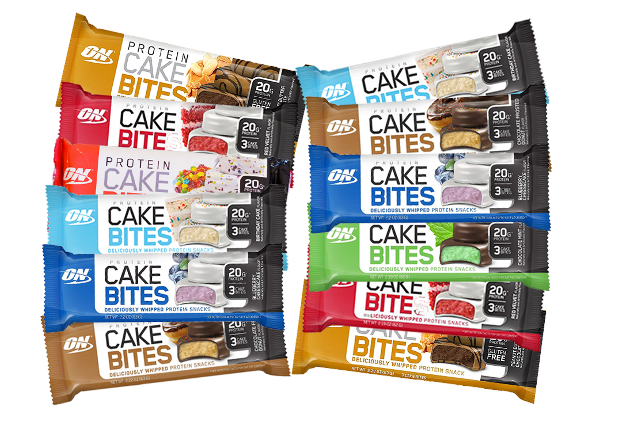 The Optimum Nutrition Cake Bites Bundle