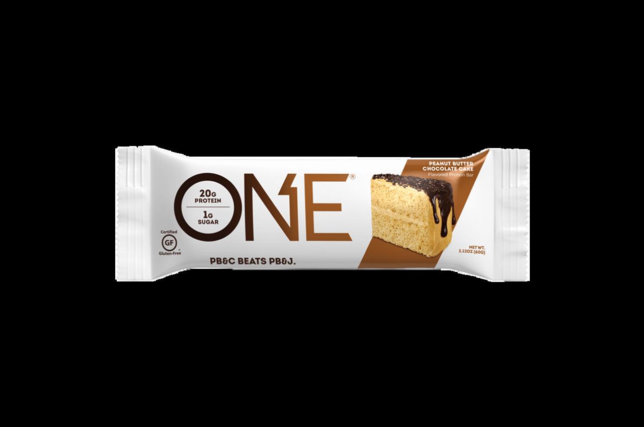 One Bar Peanut Butter Choc Cake