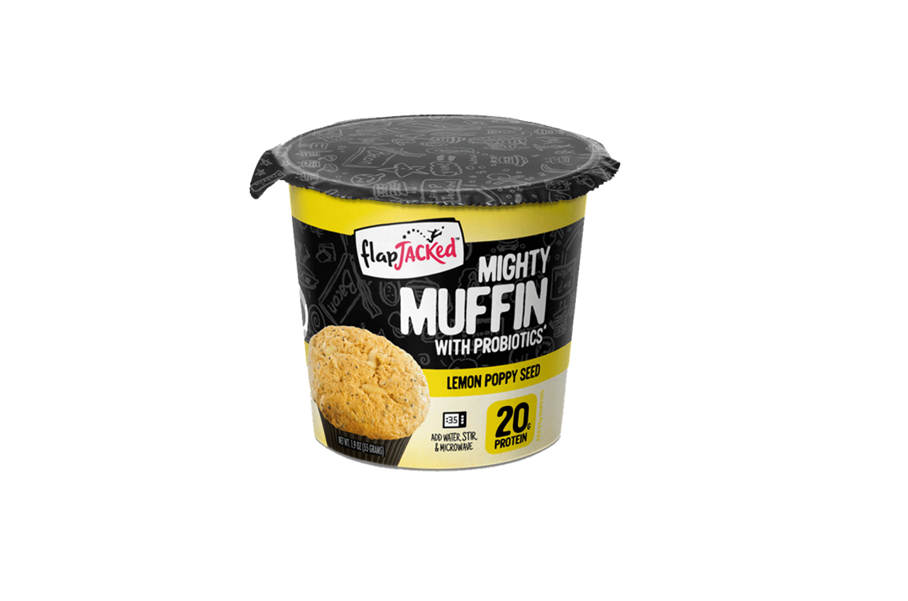 FlapJacked Mighty Muffin - Lemon Poppy Seed