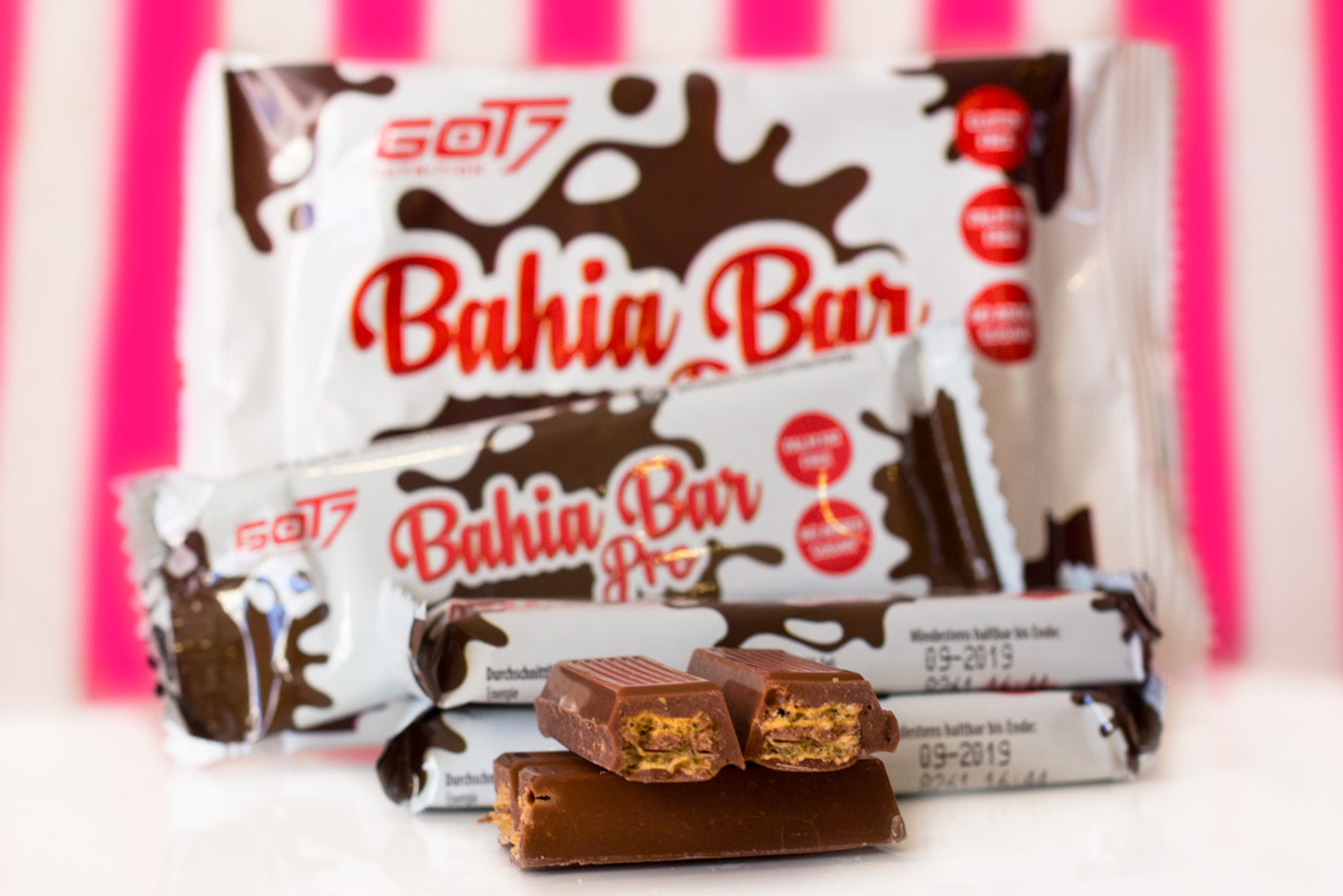 cd45fd13a4b GOT7 Bahia Pro Milk Chocolate Bar (3 x 21.5g) - The Protein Pick and Mix