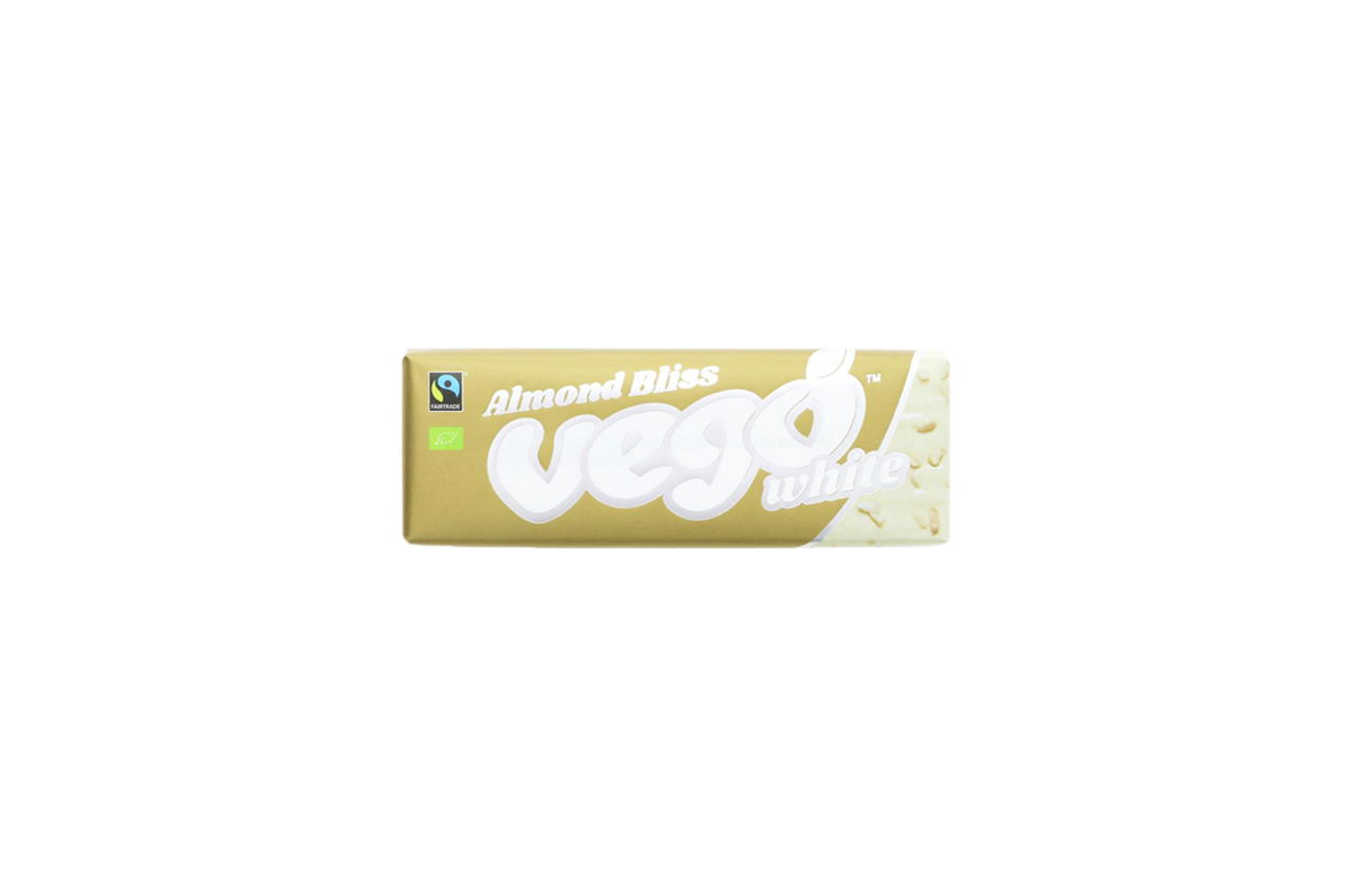 d5608bbee90 Vego Vegan White Chocolate Almond Bliss Bar 50g - The Protein Pick ...