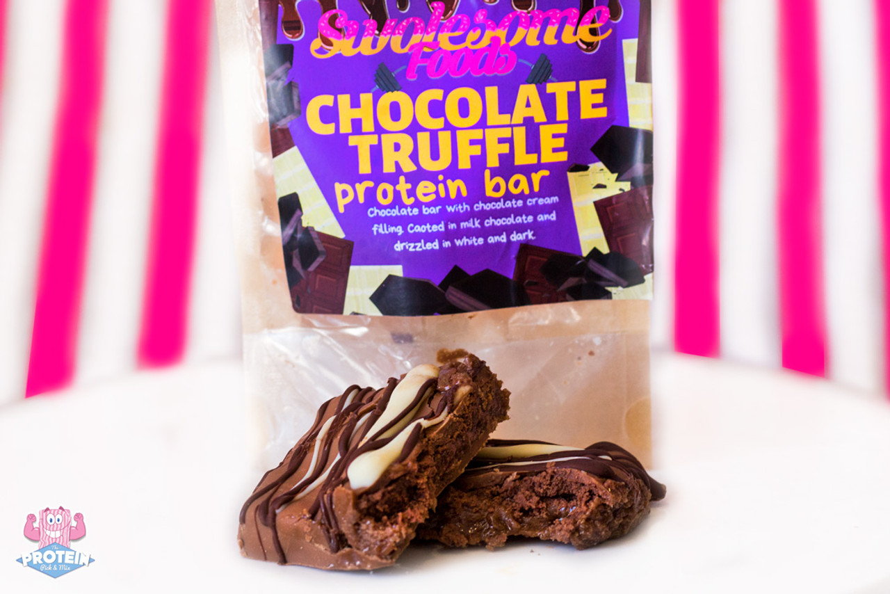 Swolesome Foods Chocolate Truffle Protein Bar