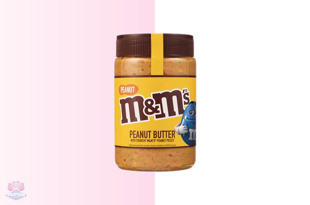 M M S Crunchy Peanut Butter Spread 320g The Protein Pick And Mix Uk