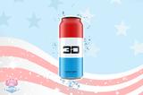3D Energy Drink - Liberty Pop