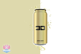 3D Energy Drink - Gold