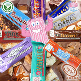 Vegan to the MAX! Classic chocolate candy bars get a vegan makeover in the Go Max Go Range!