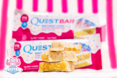 Birthday Cake Flavoured Bars And Protein Shakes