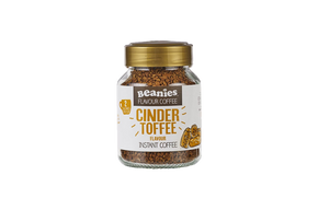 Beanies Flavour Co. Instant Coffee - Cinder Toffee #NEW #FEAT