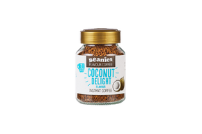 Beanies Flavour Co. Instant Coffee - Coconut Delight #NEW #FEAT