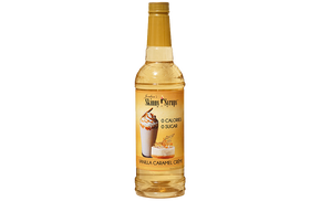 Jordan's 0 Calorie Sugar-Free Vanilla Caramel Creme Syrup (750ml)