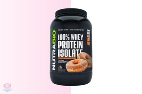 NutraBio Whey Protein Isolate - Cinnamon Sugar Donut at The Protein Pick and Mix