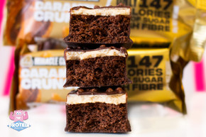 Lo-Dough Caramel Crunch with Caramel Fondant Miracle Cake Bar at the Protein Pick & Mix