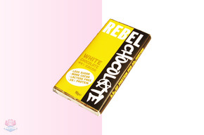 Rebel High Protein White Chocolate Bar 90g at The Protein Pick and Mix