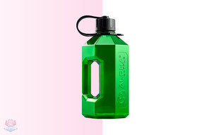 Alpha Bottle XXL 2.4L - Green at The Protein Pick and Mix