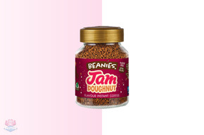 Beanies Flavoured Instant Coffee - Jam Doughnut at The Protein Pick and Mix