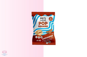 Pri's Puddings Pop Squares - Cinnamon at The Protein Pick and Mix