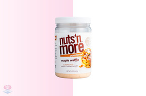 Nuts 'N More Powdered Maple Waffle Peanut Butter - 247g at The Protein Pick and Mix