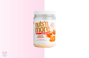 Nuts 'N More Powdered Salted Caramel Peanut Butter - 247g at The Protein Pick and Mix