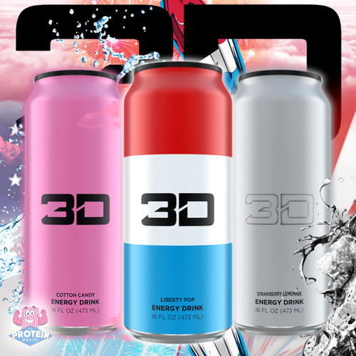 1... 2... 3(D) new 3D Energy drink flavours in the Mix now!