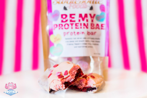 Your dinner date this Valentine's Day is sorted...Swolesome release seasonal 'Be My Protein Bae' limited edition bar!