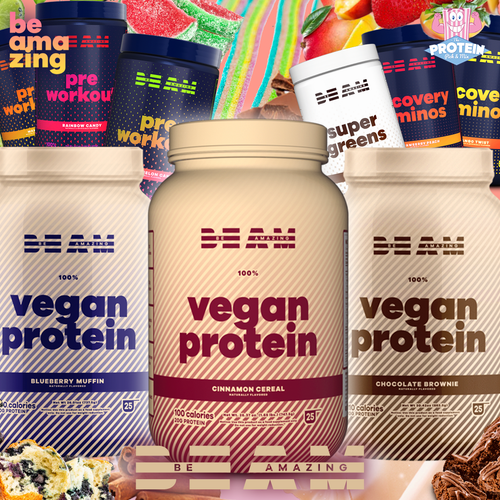 BE AMazing with these tasty new supps!