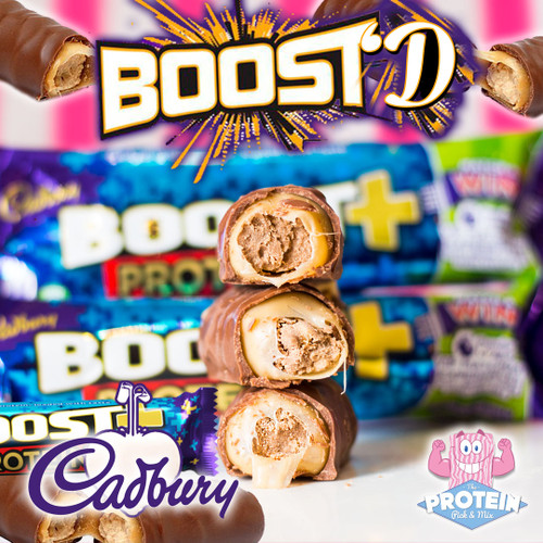Boost mode... ON! Boost+ Protein Bar available now!