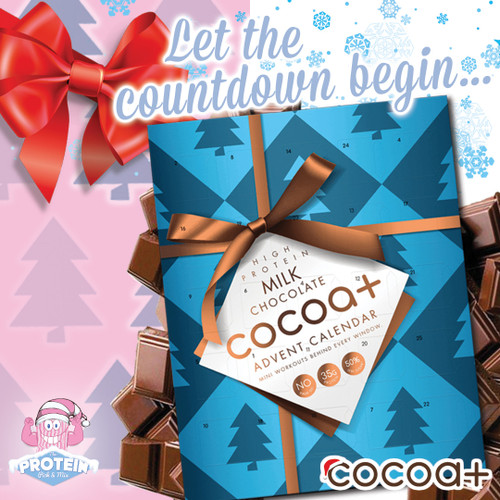 Let the Choccy Christmas Countdown begin! Grab your Cocoa+ Advent Calendar