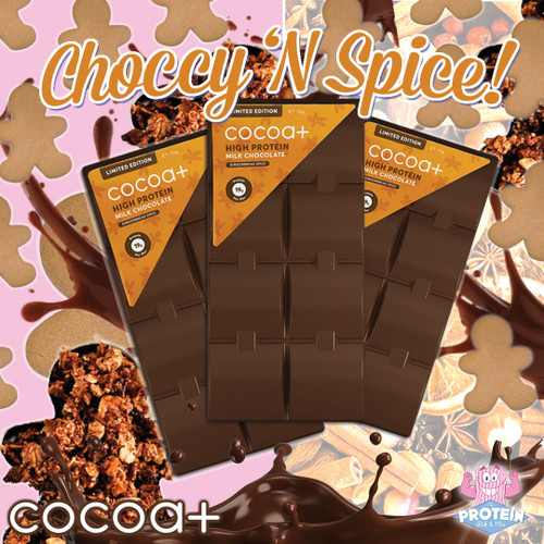 Choccy, spice and everything nice! Cocoa Plus gets even MORE good for Autumn!