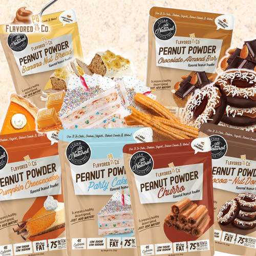 Do yourself a 'Flavor'! Powdered Peanut Butter with a delicious, desserty difference hits the Mix!