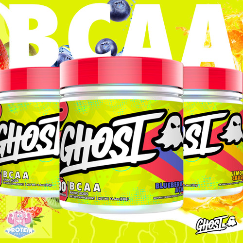 Ghost BCAA V2 - More Flavours, More Vegan, More Life!