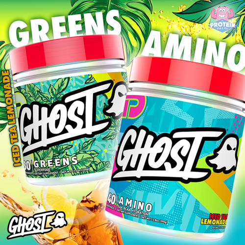 Serve your Supps with Summer vibes ...GHOST Iced Tea Lemonade is here!