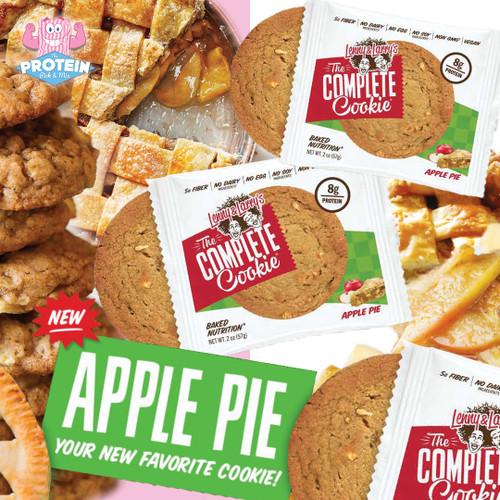 Cookie-Pie?! Lenny & Larry's Apple Pie Cookie joins the range!