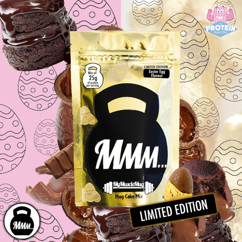 Get your (Golden) Ticket to Gooey Easter Indulgence with MyMuscleMug's 'Easter Egg' flavour!