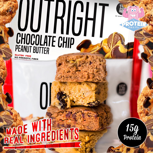 OUTRIGHT real and OUTRIGHT delicious...MTS Outright bars ain't a game!!
