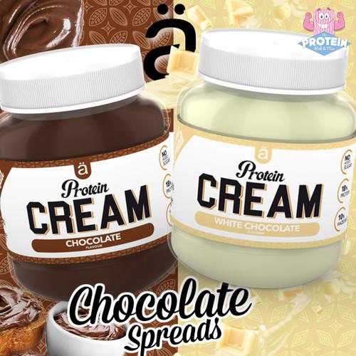 Nano gets an 'Ä+' for these low sugar, Chocolate Hazelnut Protein Cream Spreads!