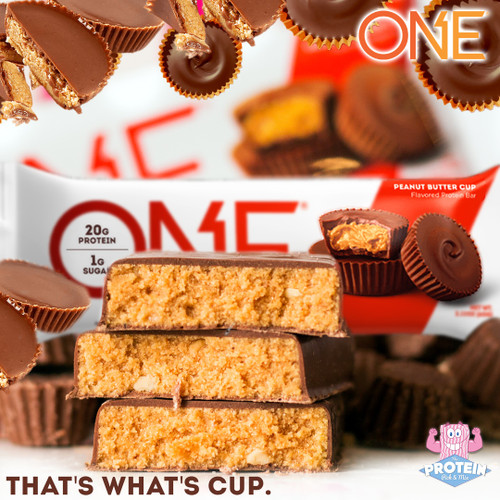 Peanut Butter me 'Cup'! There's a new ONE bar in the Mix!