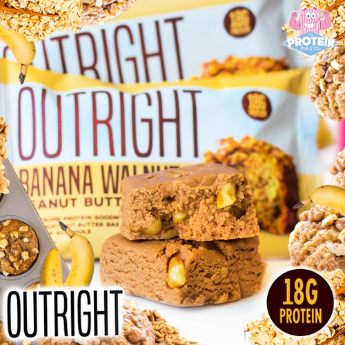 Love PB? Love Pick 'n Mix Bananas?! You 'Walnut' believe how tasty the latest OUTRIGHT bar is!
