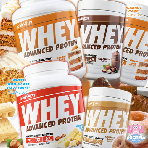 Whaaat a 'PER4Mnce', Per4m's sweet-treat themed Protein hits the Mix!