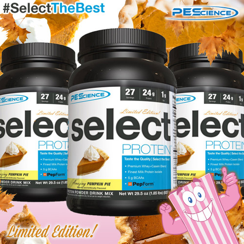 The BEST just got...BASIC! PES Pumpkin Pie SELECT available now!