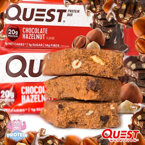 Naturally (hazel)nutty...Quest's Chocolate Hazelnut bar has arrived!