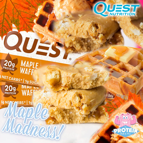 'Waffle' you waitin' for?! NEW Quest Maple Waffle Bar lands in the Mix!