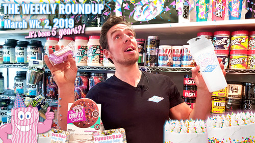 The Weekly Roundup / March Week 2, 2019 - It's our 5th Birthday!